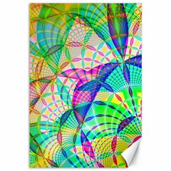 Design Background Concept Fractal Canvas 12  X 18