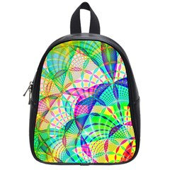 Design Background Concept Fractal School Bags (small)