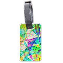 Design Background Concept Fractal Luggage Tags (two Sides)