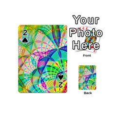 Design Background Concept Fractal Playing Cards 54 (Mini)