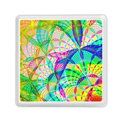 Design Background Concept Fractal Memory Card Reader (Square)