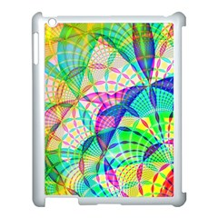Design Background Concept Fractal Apple Ipad 3/4 Case (white)