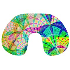 Design Background Concept Fractal Travel Neck Pillows