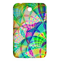 Design Background Concept Fractal Samsung Galaxy Tab 3 (7 ) P3200 Hardshell Case