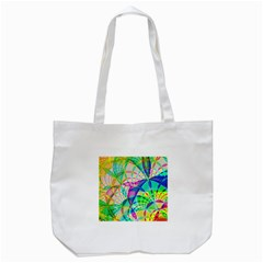 Design Background Concept Fractal Tote Bag (white)