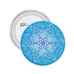 Design Winter Snowflake Decoration 2.25  Buttons