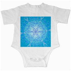 Design Winter Snowflake Decoration Infant Creepers