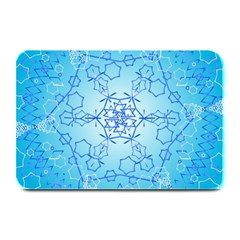 Design Winter Snowflake Decoration Plate Mats