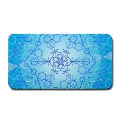 Design Winter Snowflake Decoration Medium Bar Mats