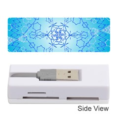 Design Winter Snowflake Decoration Memory Card Reader (stick)