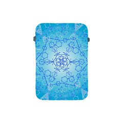 Design Winter Snowflake Decoration Apple Ipad Mini Protective Soft Cases