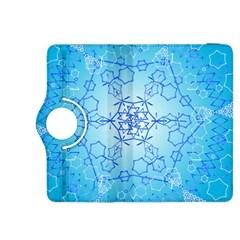 Design Winter Snowflake Decoration Kindle Fire Hdx 8 9  Flip 360 Case