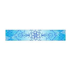 Design Winter Snowflake Decoration Flano Scarf (mini)