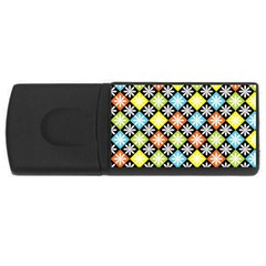 Diamonds Argyle Pattern USB Flash Drive Rectangular (4 GB)