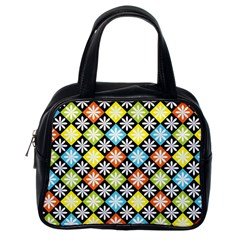 Diamonds Argyle Pattern Classic Handbags (One Side)