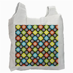 Diamonds Argyle Pattern Recycle Bag (Two Side)