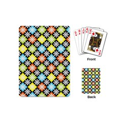 Diamonds Argyle Pattern Playing Cards (Mini)