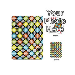 Diamonds Argyle Pattern Playing Cards 54 (Mini)