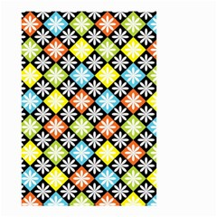 Diamonds Argyle Pattern Small Garden Flag (Two Sides)