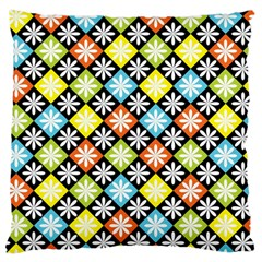 Diamonds Argyle Pattern Large Cushion Case (One Side)
