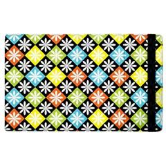 Diamonds Argyle Pattern Apple iPad 3/4 Flip Case