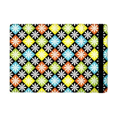 Diamonds Argyle Pattern Apple iPad Mini Flip Case