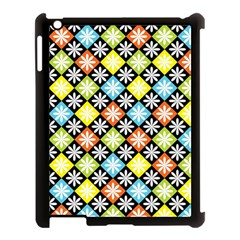 Diamonds Argyle Pattern Apple Ipad 3/4 Case (black)