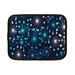 Digitally Created Snowflake Pattern Netbook Case (Small)