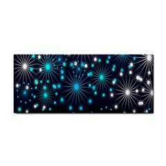 Digitally Created Snowflake Pattern Cosmetic Storage Cases