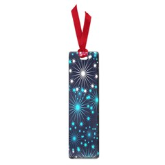 Digitally Created Snowflake Pattern Small Book Marks