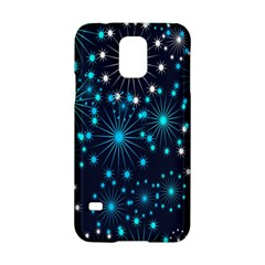 Digitally Created Snowflake Pattern Samsung Galaxy S5 Hardshell Case