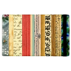 Digitally Created Collage Pattern Made Up Of Patterned Stripes Apple iPad 3/4 Flip Case