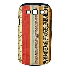 Digitally Created Collage Pattern Made Up Of Patterned Stripes Samsung Galaxy S Iii Classic Hardshell Case (pc+silicone)