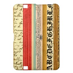 Digitally Created Collage Pattern Made Up Of Patterned Stripes Kindle Fire HD 8.9