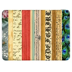 Digitally Created Collage Pattern Made Up Of Patterned Stripes Samsung Galaxy Tab 7  P1000 Flip Case