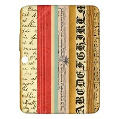 Digitally Created Collage Pattern Made Up Of Patterned Stripes Samsung Galaxy Tab 3 (10 1 ) P5200 Hardshell Case