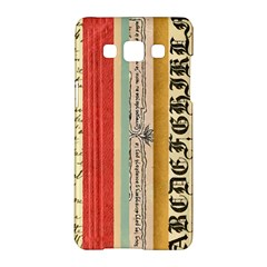 Digitally Created Collage Pattern Made Up Of Patterned Stripes Samsung Galaxy A5 Hardshell Case