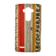 Digitally Created Collage Pattern Made Up Of Patterned Stripes LG G4 Hardshell Case
