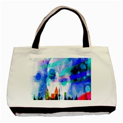 Dirty Dirt Spot Man Doll View Basic Tote Bag (two Sides)