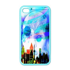 Dirty Dirt Spot Man Doll View Apple iPhone 4 Case (Color)