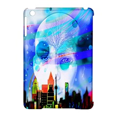 Dirty Dirt Spot Man Doll View Apple iPad Mini Hardshell Case (Compatible with Smart Cover)