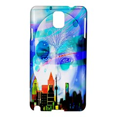 Dirty Dirt Spot Man Doll View Samsung Galaxy Note 3 N9005 Hardshell Case