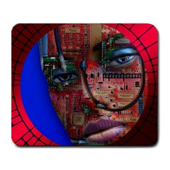 Display Dummy Binary Board Digital Large Mousepads