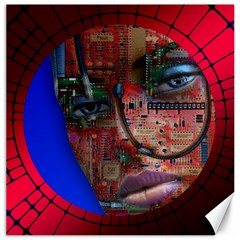 Display Dummy Binary Board Digital Canvas 12  X 12
