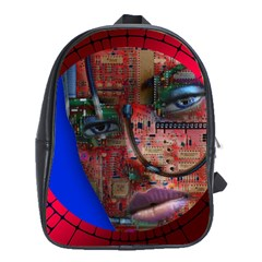 Display Dummy Binary Board Digital School Bags(large)
