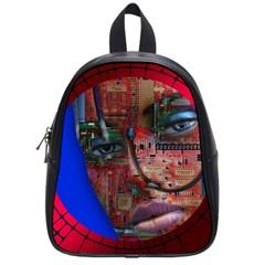 Display Dummy Binary Board Digital School Bags (small)