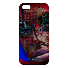 Display Dummy Binary Board Digital iPhone 5S/ SE Premium Hardshell Case