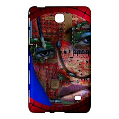 Display Dummy Binary Board Digital Samsung Galaxy Tab 4 (7 ) Hardshell Case