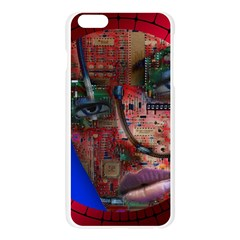 Display Dummy Binary Board Digital Apple Seamless iPhone 6 Plus/6S Plus Case (Transparent)