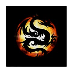 Dragon Fire Monster Creature Tile Coasters
